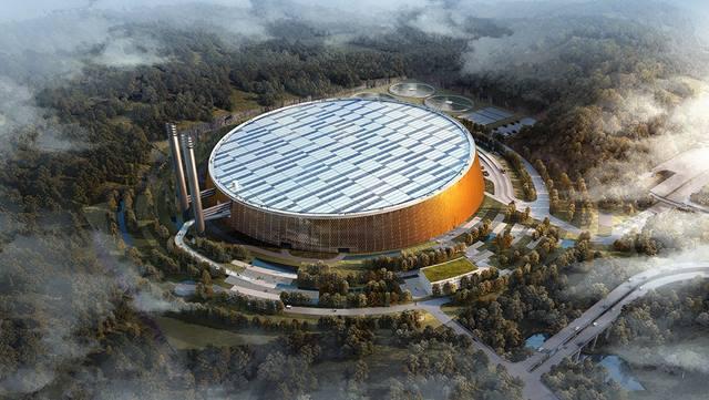 shenzhen pembangkit listrik tenaga sampah terbesar di dunia C