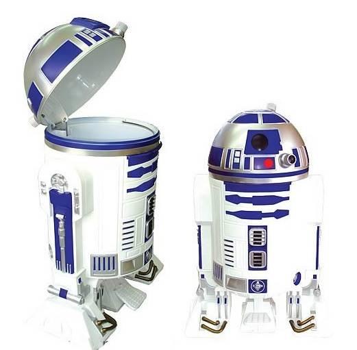 Tempat Sampah Unik : Robot R2-D2 Star Wars Bisakah Beroperasi di Indonesia